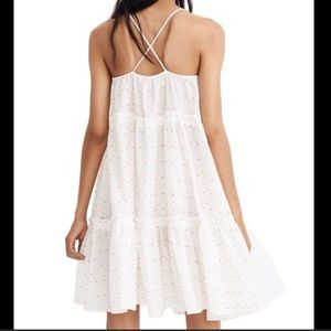 Madewell cami tier cross-back sundress